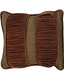 HiEnd Accents Bianca II Ruched Section Pillow, , hi-res