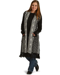 Jack Women's Fringe Trim Duster, , hi-res