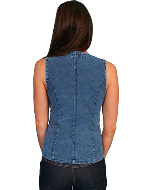 Scully Women's Cantina Tank Blouse, Blue, hi-res