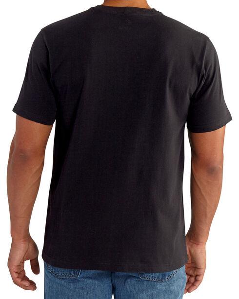 Carhartt Men's Lubbock Distressed Flag Short Sleeve T-Shirt, Black, hi-res