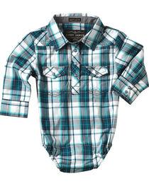 Cody James® Infant Boys' Plaid Long Sleeve Onesie , , hi-res