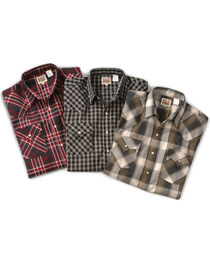 Ely Cattleman Men's Assorted Plaid Western Shirt, , hi-res