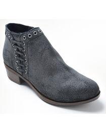 Minnetonka Women's Brenna Side Lace Boots - Round Toe, , hi-res