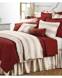 HiEnd Accents 3-Piece Prescott Stripe Red Queen Set, , hi-res