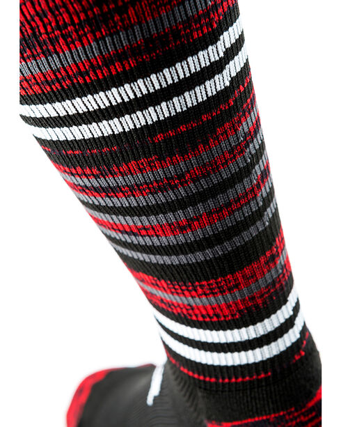 Cinch Men's Striped Crew Length Boot Socks, Multi, hi-res