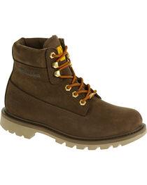 """Caterpillar Women's Watershed Waterproof 6"""" Work Boots, , hi-res"""