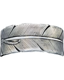 Montana Silversmiths Feather Bracelet, , hi-res