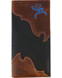 HOOey Men's Roughy Overlay Rodeo Wallet, , hi-res