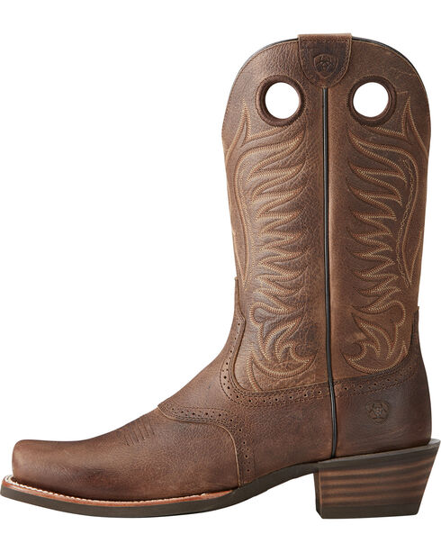 Ariat Men's Heritage Hotshot Western Boots, Brown, hi-res