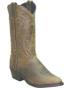 "Sage Boots by Abilene Men's 12"" Longhorn Western Boots, Brown, hi-res"