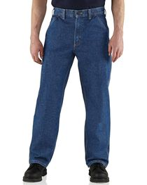 Carhartt Flame Resistant Utility Denim Dungaree Jeans, , hi-res