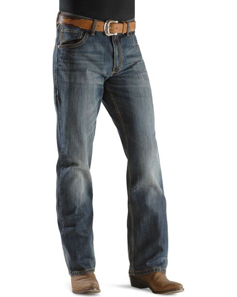 Wrangler Men's 20X Xtreme Boot Cut Jeans, Denim, hi-res