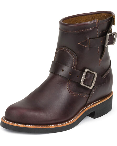 "Chippewa Women's  7"" Engineer Boots, Cognac, hi-res"