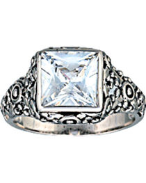 Montana Silversmiths Women's Mountain Princess Solitaire Ring, , hi-res