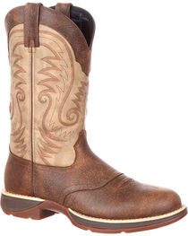 Durango Men's Ultra Lite Waterproof Western Work Boots, , hi-res