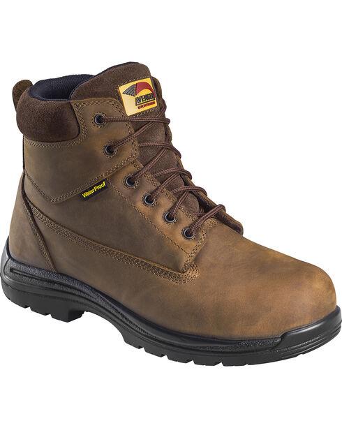 Avenger Men's Composite Toe Lace Up Hiking Boots, Brown, hi-res
