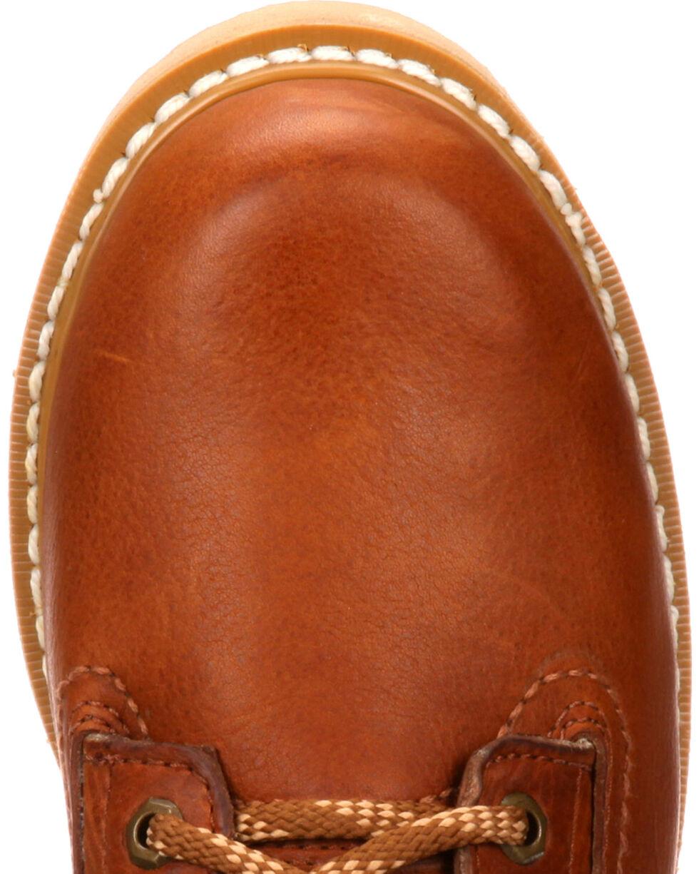 "Georgia Men's Steel Toe Wedge 6"" Work Boots, Brown, hi-res"