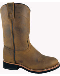 Smoky Mountain Youth Boys' Muskogee Roper Western Boots - Round Toe, , hi-res
