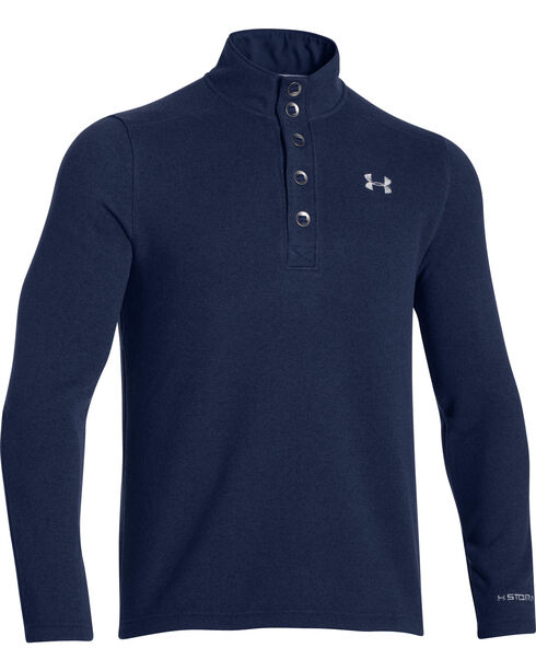 Under Armour Men's UA Specialist Storm Sweater, Blue, hi-res