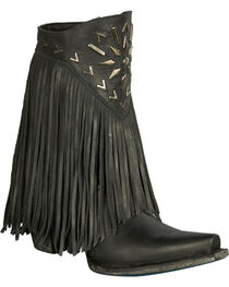 Lane Women's Fringe It Western Fashion Boots, , hi-res