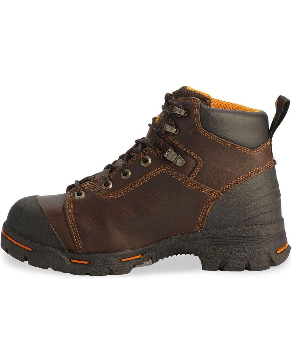 "Timberland Pro Men's Endurance PR 6"" Steel Toe Work Boots, Briar, hi-res"