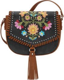 Bandana by American West Women's Maya Flap Crossbody Bag, , hi-res