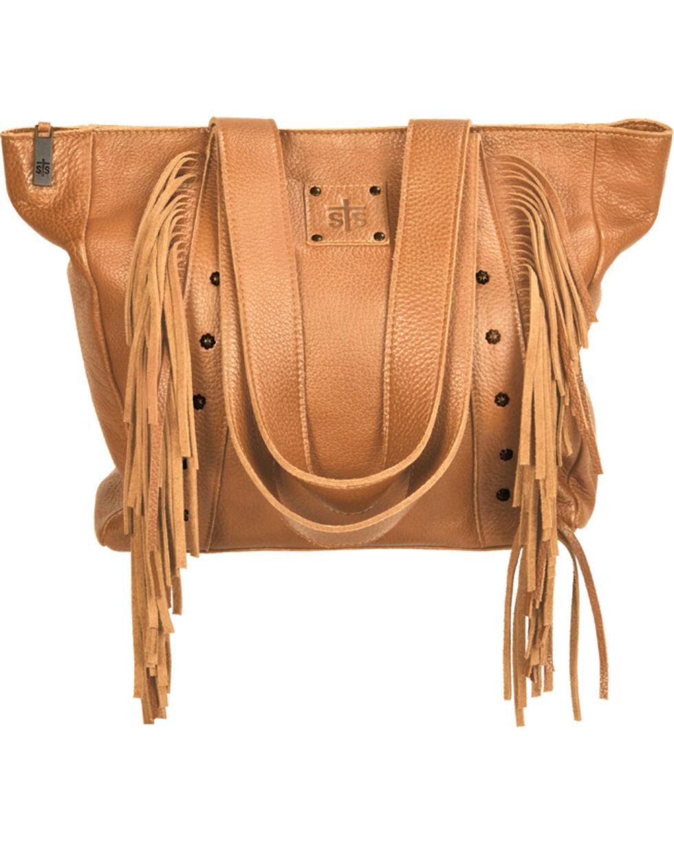 STS Ranchwear Buckskin Annie Oakley Tote , Tan, hi-res