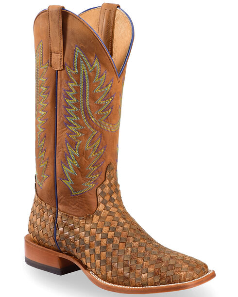 Anderson Bean Horse Power Men's Unbeweavable Western Boots, Toast, hi-res