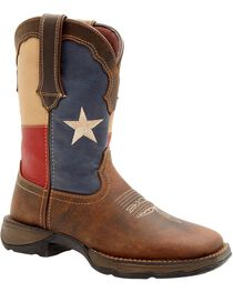 Durango Women's Lady Rebel Texas Flag Western Boots, , hi-res