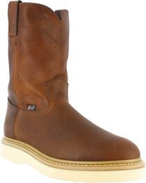 Justin Men's Pull On Wedge Sole Work Boots, , hi-res