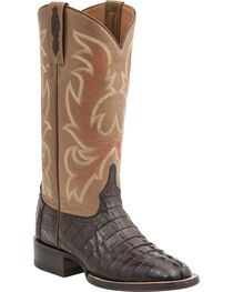 Lucchese Women's Lexie Exotic Caiman Western Boots, , hi-res