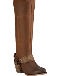 Ariat Sadler Distressed Women's Riding Boots - Round Toe, , hi-res