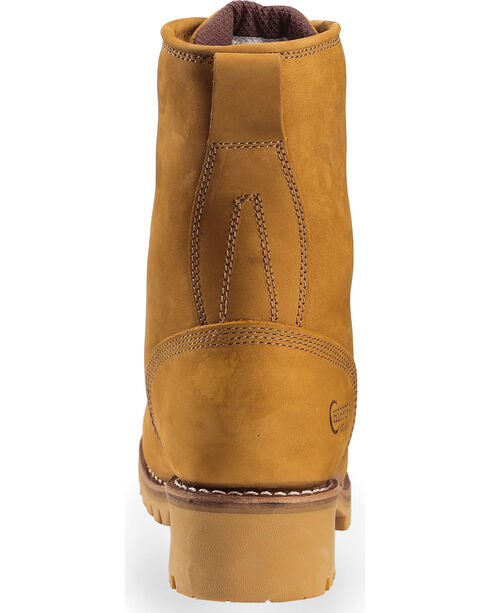 Chippewa Men's Insulated Steel Toe Logger Work Boots, Golden Tan, hi-res