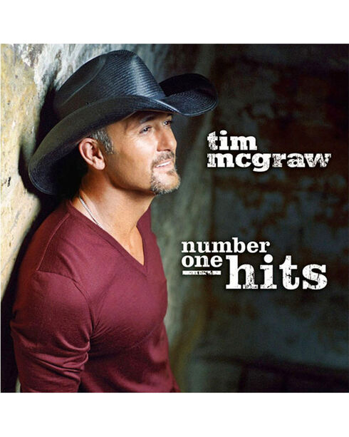 Tim McGraw's Number One Hits CD, No Color, hi-res