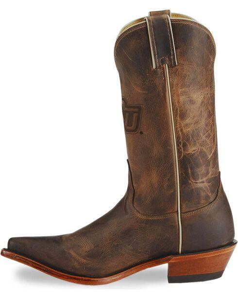 Nocona Women's Oklahoma State University College Boots, Tan, hi-res