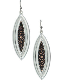 Montana Silversmiths Women's River Pebbles at Sunset Earrings, , hi-res