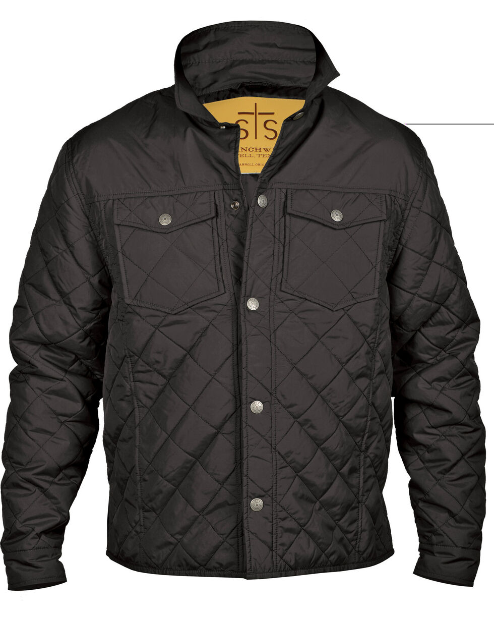 STS Ranchwear Men's Cassidy Jacket, Black, hi-res