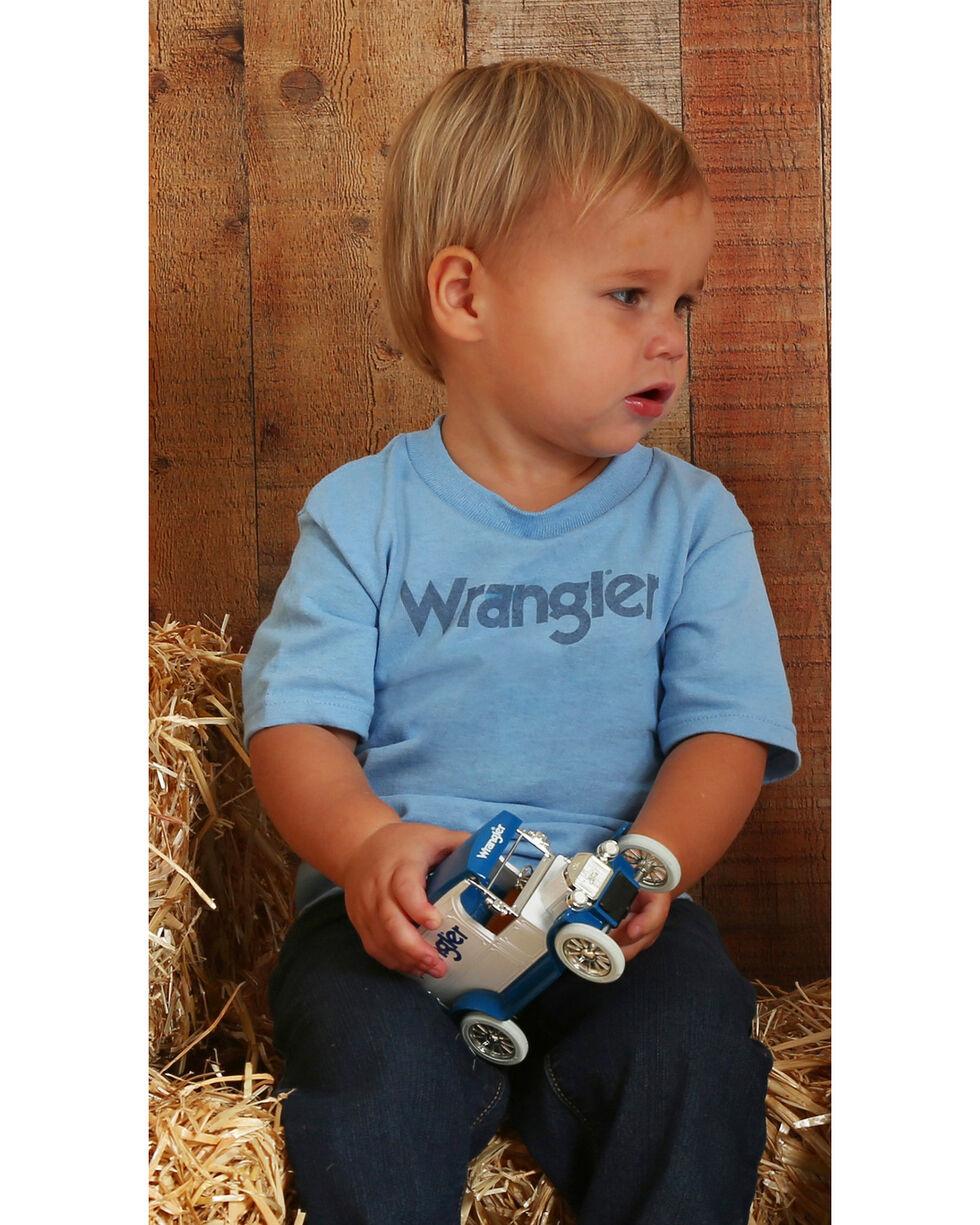 Wrangler Toddler Boys' Logo Tee, Blue, hi-res