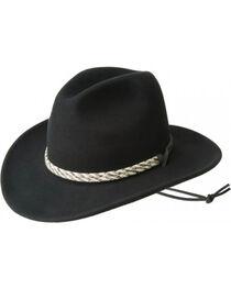 Bailey Men's Flyway Wool Felt Outback Hat, , hi-res