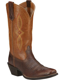 Ariat Women's Round Up Square Toe II Western Boots, , hi-res
