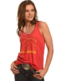 Cowgirl Justice Women's Tequila Sunrise Tank, , hi-res