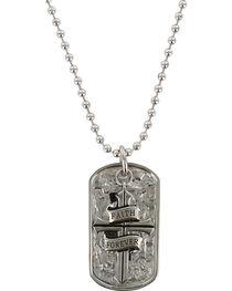 Moonshine Spirit Men's Faith Forever Dog Tag Necklace, , hi-res