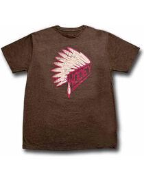 Hooey Men's First Headdress Graphic T-Shirt, , hi-res