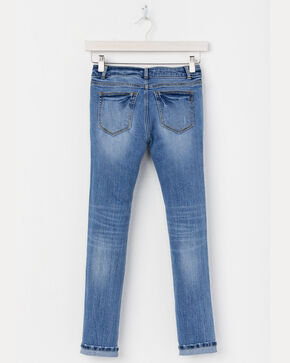 Miss Me Girls' Simple Skinny Jeans , Indigo, hi-res