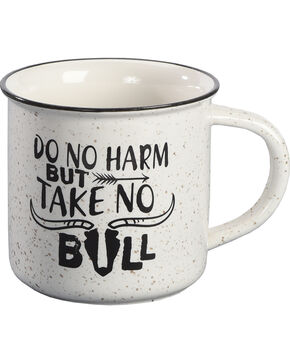 BB Ranch Take No Bull Ceramic Mug, No Color, hi-res