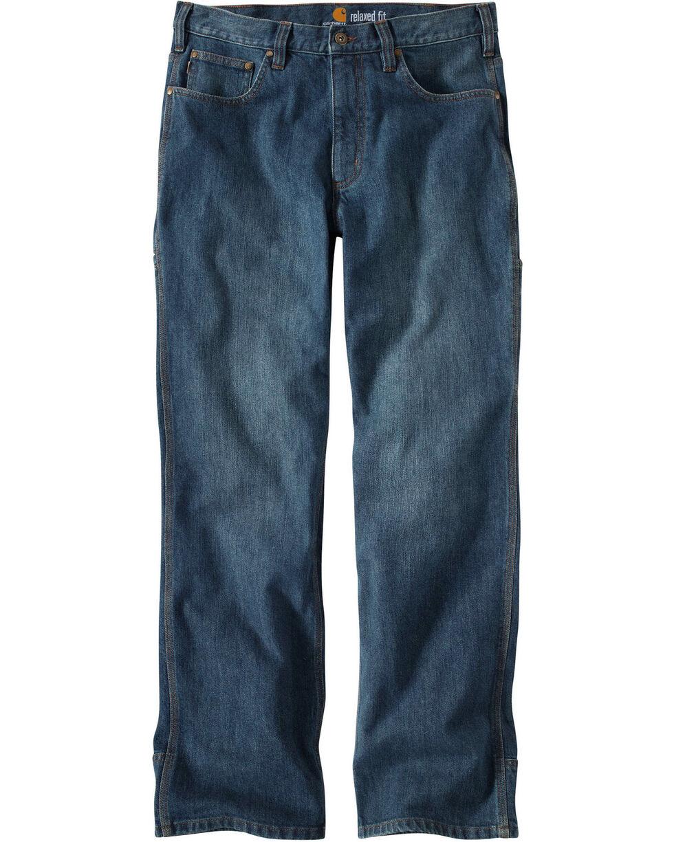 Carhartt Men's Work Flex Linden Jeans, Worn Denim, hi-res