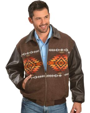 Pendleton Pueblo Dwelling Cassidy Coat, Brown, hi-res