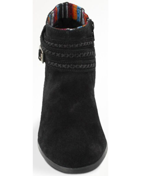 Minnetonka Women's Dixon Boots, Black, hi-res