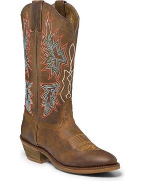 Nocona Women's Vintage Caballo Western Boots, Brown, hi-res