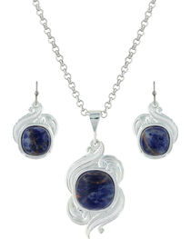 Montana Silversmiths Women's Midnight Wind Jewelry Set , , hi-res